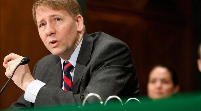 Cordray's Choice (National Review, March 15, 2017)